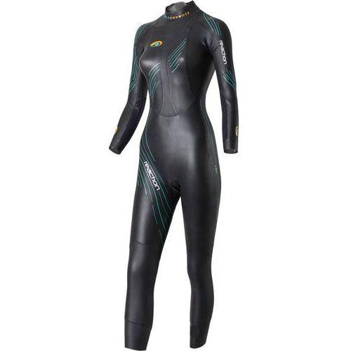 Blueseventy reaction kobiety czarny ms 2018 pianki do pływania