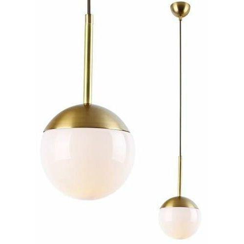 LAMPA wisząca DALLAS P0241 Maxlight szklana OPRAWA zwis kula ball złota (1000000325768)
