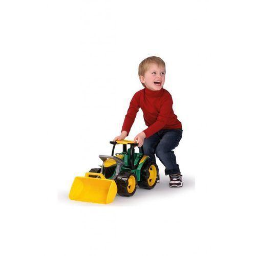 Ciągnik z łyżką 62 cm zielono-żółty - Lena