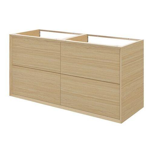 Szafka z szufladami pod umywalkę GoodHome Avela 120 cm drewno, 6008SV12