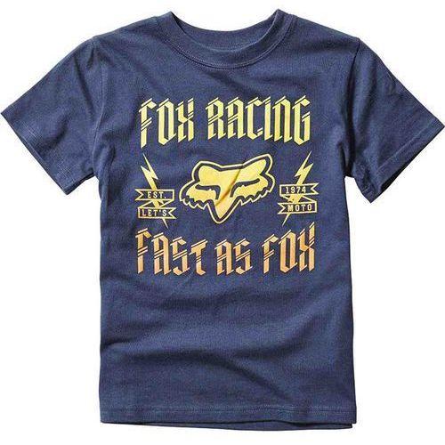 Koszulka - kids ruppe ss tee indigo (199) rozmiar: km, Fox