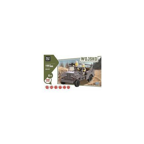 Klocki Blocki Wojsko Jeep 199 elementów