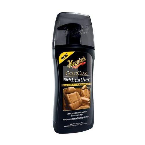 Meguiar's  - gold class rich leather 414ml, kategoria: środki do pielęgnacji skóry