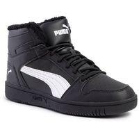 Sneakersy - rebound layup sl fur 369830 01 puma black/puma white marki Puma