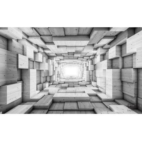 Fototapeta szara abstrakcja 3d 3248 marki Consalnet