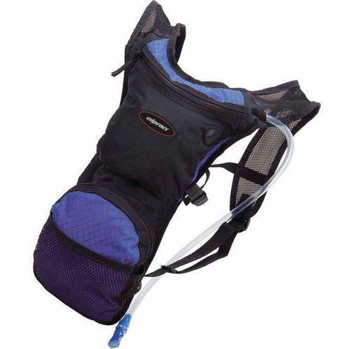 Olpran plecak rowerowy 10l black/purple (8595243834397)