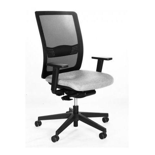 Fotel biurowy obrotowy BAKUN SIMPLE NET tkanina+siatka z mechanizmem S20