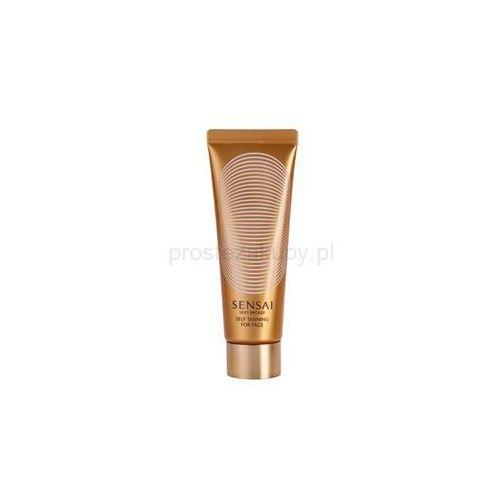 silky bronze samoopalający krem-żel do twarzy + do każdego zamówienia upominek. marki Sensai