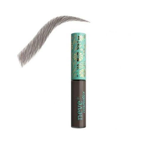 Neve cosmetics Naturalny tusz do stylizacji brwi brow model lisboa ebony 3ml - ciemny brąz
