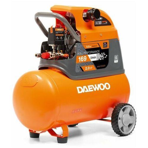 Daewoo dac 50d kompresor olejowy tłokowy sprężarka powietrza 50l - oficjalny dystrybutor - autoryzowany dealer daewoo