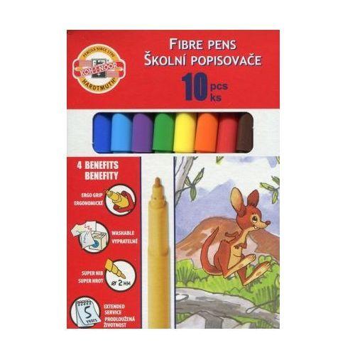 flamastry 10 kolorów kartonik - wikr-061032 darmowy odbiór w 21 miastach! marki Koh-i-noor