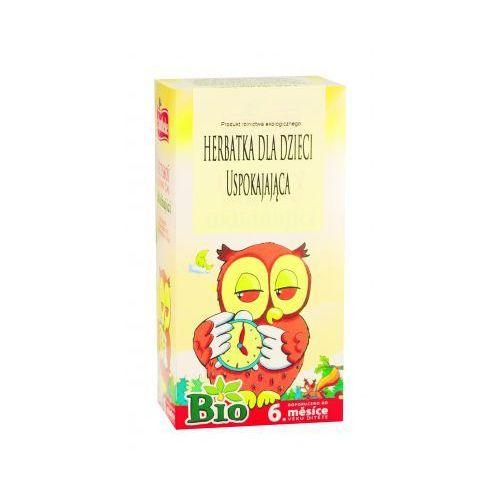 Herbata dla dzieci Uspokajająca BIO 20x1,5g Apotheke, 8595178200694