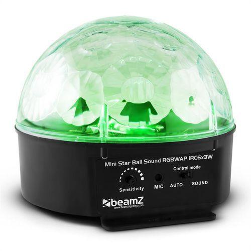 Beamz Starball Efekt świetlny LED 6 x RGBWAP LED 25W Pilot czarny - produkt z kategorii- Zestawy i sprzęt DJ