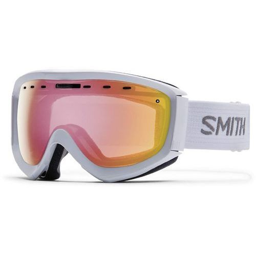 gogle snowboardowe SMITH - Prophecy Otg White Red Sensor Mirror (99BY) rozmiar: OS