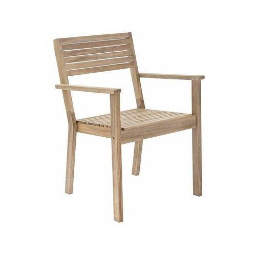 Naterial Fotel ogrodowy solaris drewniany