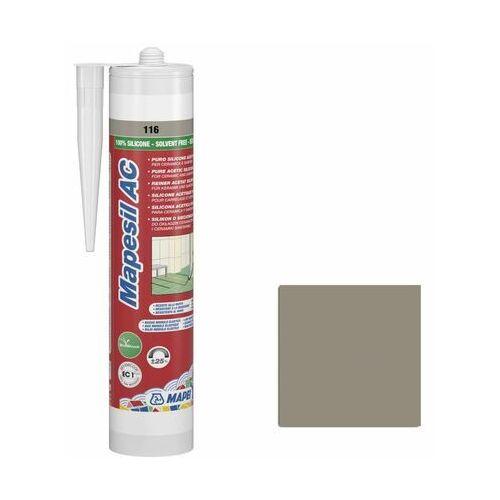 Silikon sanitarny 116 Szary 310 ml MAPEI (8022452241338)
