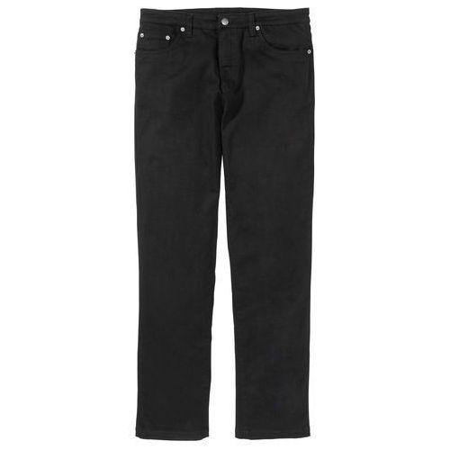 Bonprix Spodnie ze strechem classic fit straight czarny