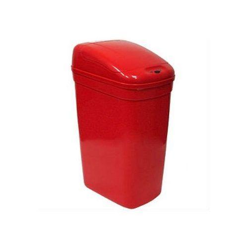 Pojemniki na odpady medyczne 27 litrów Ninestars plastik czerwony