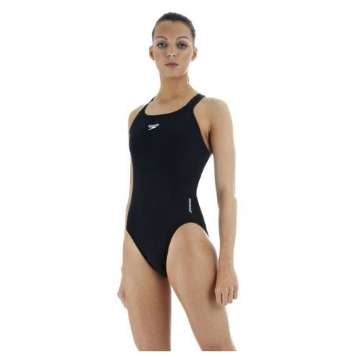 speedo Essential Endurance + Medalist Strój kąpielowy Kobiety czarny 42 Stroje jednoczęściowe