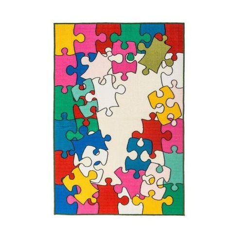 Inspire Dywan mapa 2 różnokolorowy 100 x 150 cm wys. runa 3 mm (3276000342083)