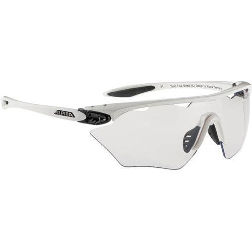 Okulary Słoneczne Alpina Twist Four Shield VL+ A8454110, kolor żółty