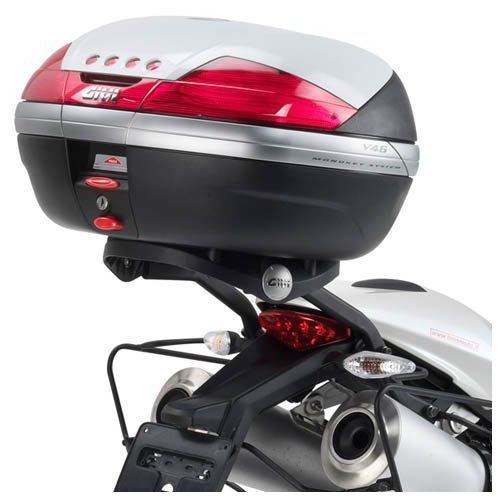 Givi 780fz monorack ducati monster 696 / 796 / 1100 (08 > 14), 1100 evo (11 > 12)
