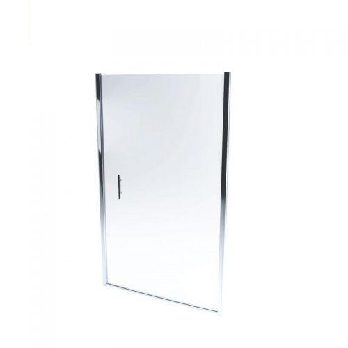 MASSI GLASSO Drzwi prysznicowe 90x185, szkło transparentne + powłoka EasyClean FA651-90 * WYSYŁKA GRATIS (5902706780734)