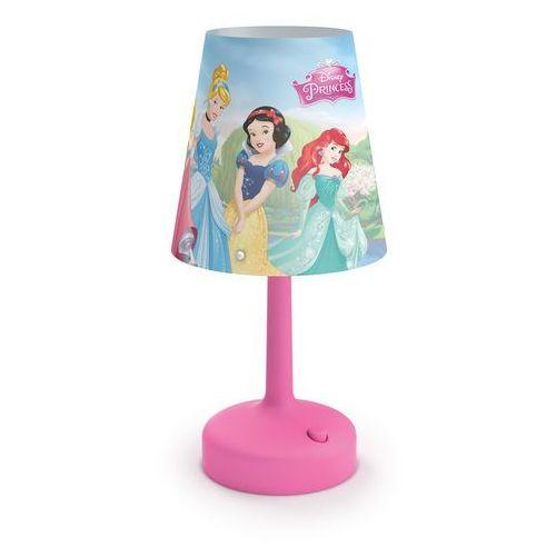 Philips 71796/28/16 - Lampa stołowa dla dzieci DISNEY PRINCESS LED/0,6W/3xAA (8718696130551)