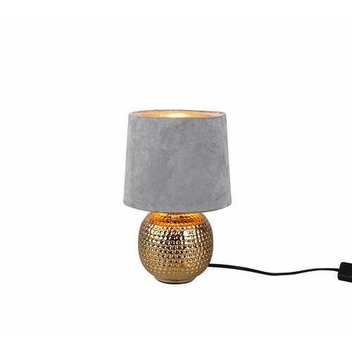 Trio RL Sophia R50821011 lampa stołowa lampka 1x40W E14 złota/szara (4017807477887)