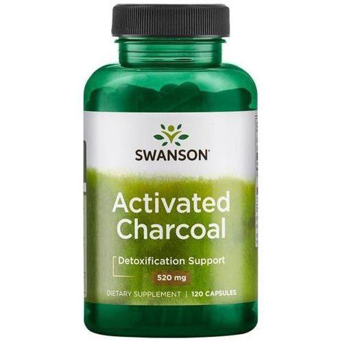 Swanson aktywny węgiel drzewny 260 mg 120 kapsułek marki Swanson health products
