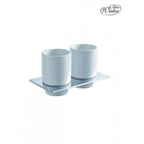 Blue water Uchwyt z dwoma szklankami hug-016