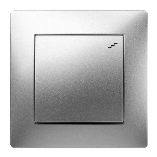 volante łącznik schodowy srebrny 2612-06 marki Elektroplast