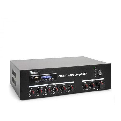 Power Dynamics PBA30 100V Wzmacniacz 30 W USB/SD MP3 Bluetooth, 952.090