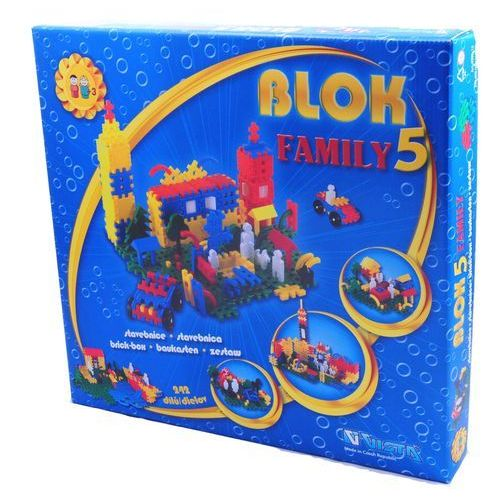 VISTA Klocki Blok 5 Family – plastik 242 szt.