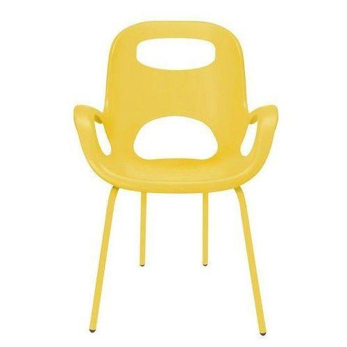 Krzesło Oh żółte z żółtymi nogami