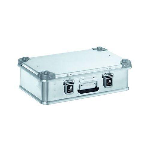 Zarges Aluminiowa skrzynka transportowa, poj. 29 l, dł. x szer. x wys. wewn. 550x350x15