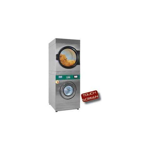 Pralko-suszarka 14 kg (elektryczna) + suszarka obrotowa 18 kg (gazowa) | TOUCH SCREEN | 12800W | 880x1196x(H)2159mm