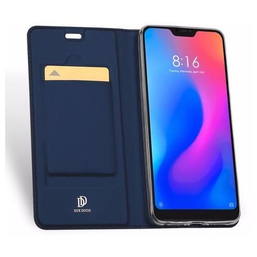Etui Skin Pro DuxDucis do Xiaomi Mi A2 Lite/Redmi 6 Pro Granatowe, kolor niebieski