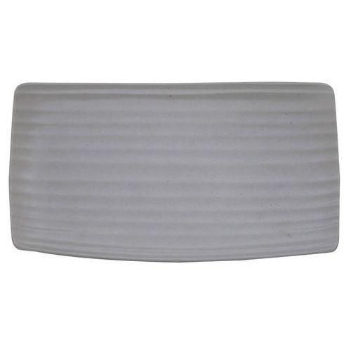 Talerz płytki prostokątny 360 x 300 mm | ARIANE, Artisan Pebble