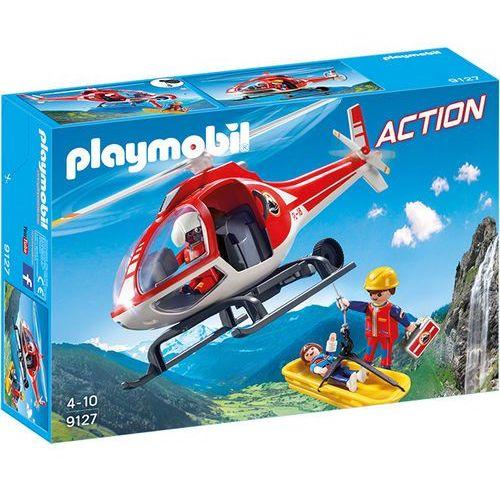 Playmobil ACTION Helikopter ratowniczy 9127