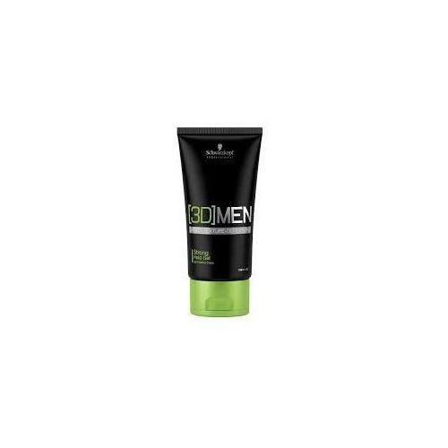 Schwarzkopf professional [3d] men żel do włosów strong (strong hold gel) 150 ml (4045787263831)