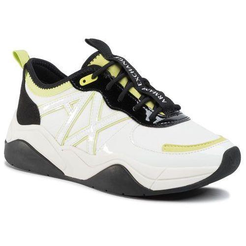 Sneakersy - xdx039 xv311 n769 off white/black, Armani exchange, 37-40