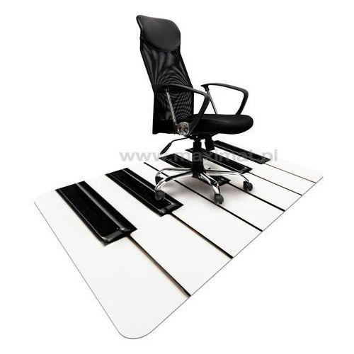 Podkładka ochronna ze wzorem 042 - KLAWIATURA pod krzesło - 120x180cm - gr.1,3mm
