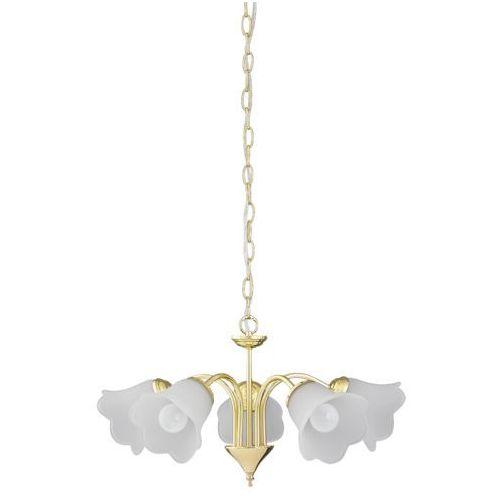 Rabalux Lampa wisząca rafaella 5x40w e14 złota 7235 (5998250372358)