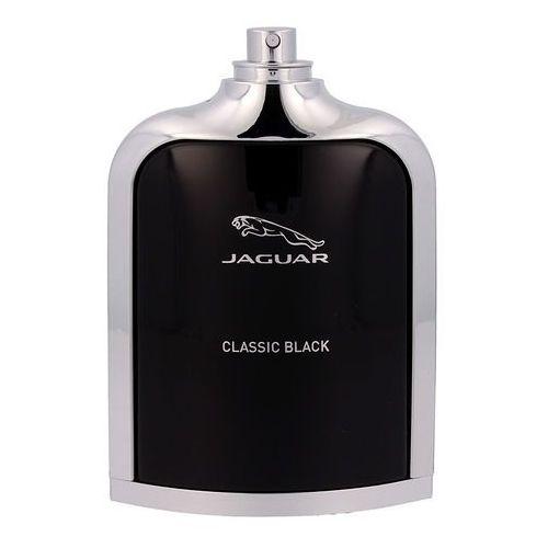classic black 100ml m woda toaletowa tester marki Jaguar