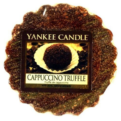 Yankee candle Wosk zapachowy - capuccino truffle - 22g - (5038580048766)