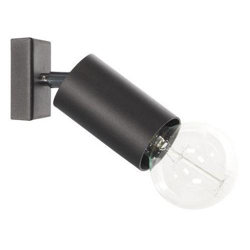 Lampex Kinkiet ścienny rolka 40w czarny