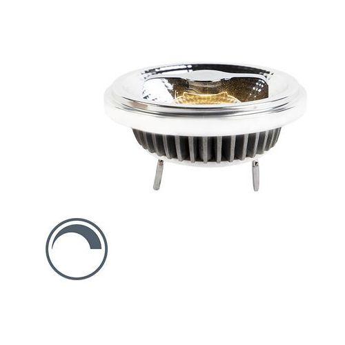 Żarówka LED AR111 G53 12W 600lm 2700K ściemnialna