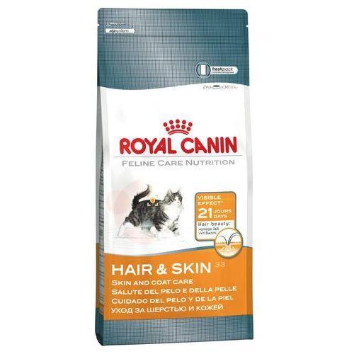 Royal canin 10 kg + 12 x 85 g karmy mokrej w super cenie! - hair & skin care 33 + intense beauty w sosie| darmowa dostawa od 89 zł i super promocje od zooplus!