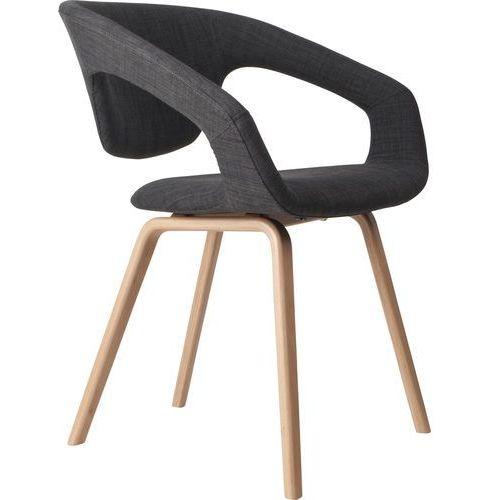 Zuiver fotel flexback naturalny/ciemny szary 1200096